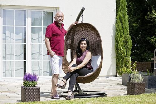 Unsere Bauherren wohnen glücklich und zufrieden in Ihrem Heinz von Heiden-Massivhaus.